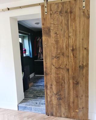 Scaffold Board Door