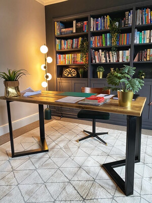 Rustic Scaffold Board Desk
