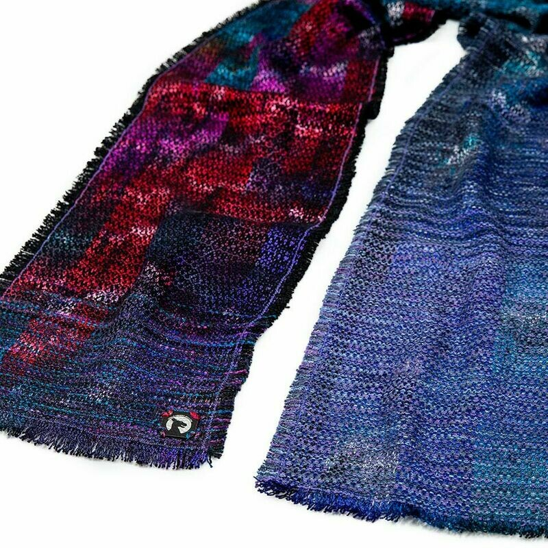 Killer Rainbows from Outer Space.... the scarf