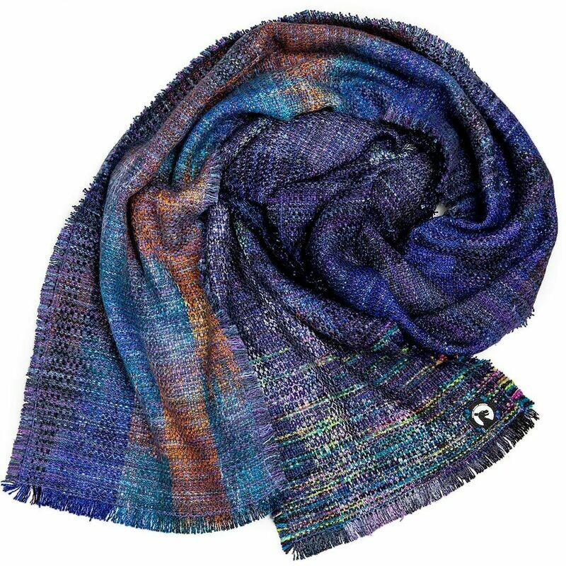 Killer Rainbows from Outer Space... the scarf