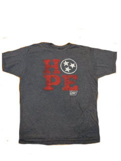Tennessee Tri-star Hope Shirt (Grey)