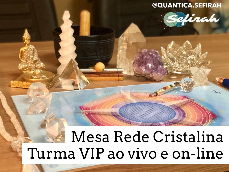 CURSO MESA PSIÔNICA RP® | REDE CRISTALINA Online e ao Vivo Sexta-Feira - 23/04/2021 de 9h às 18h