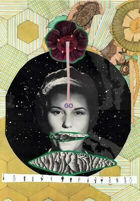 Stop & Go #2 Collage Print