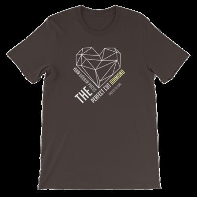 The Perfect Cut Diamond // Short-Sleeve Unisex T-Shirt