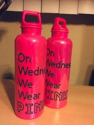 Wednesdays Water Bottle
