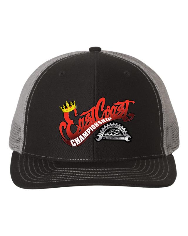 2021 ECC Snapback Black/Charcoal Hat