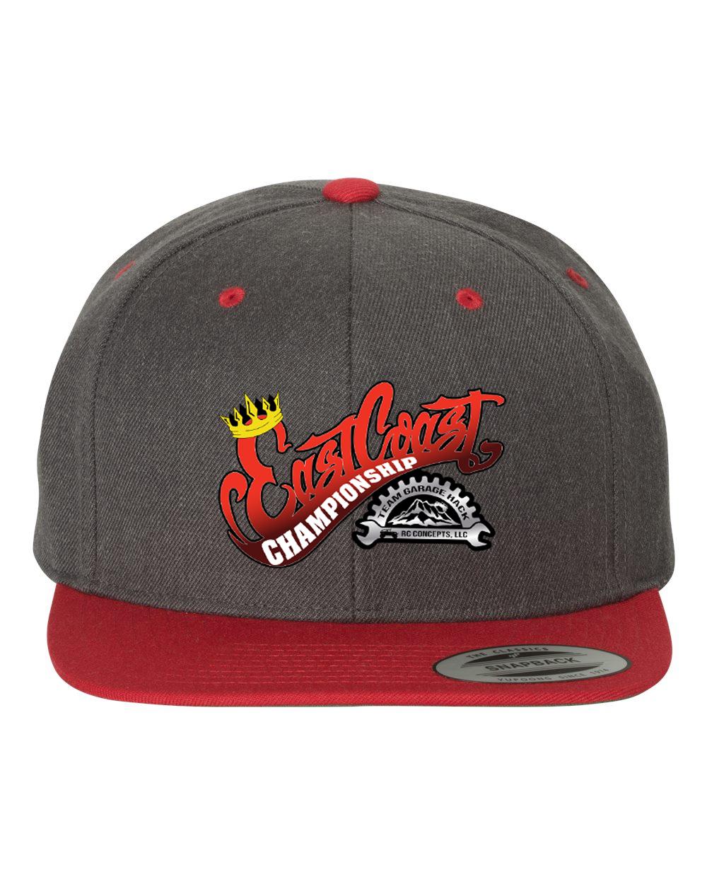 2021 ECC Snapback Flatbill Hat