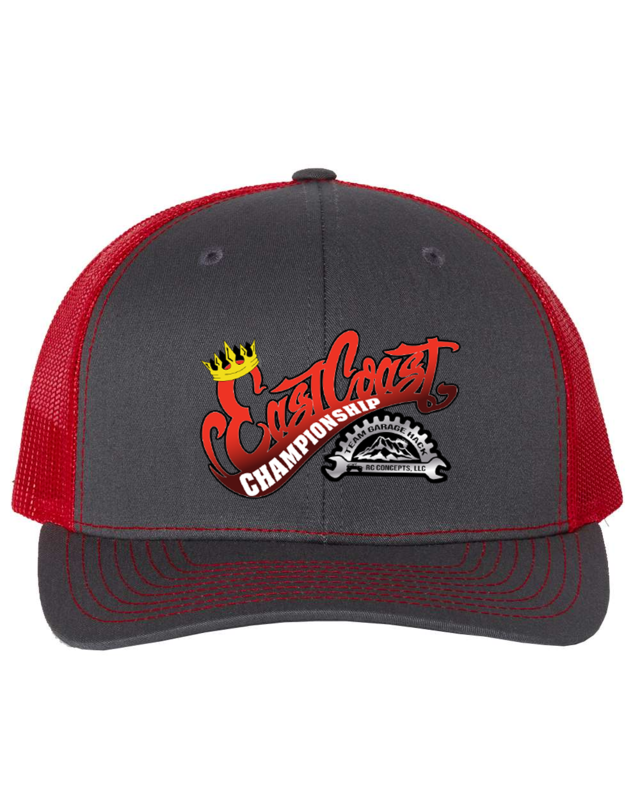 2021 ECC Snapback Charcoal/Red Hat