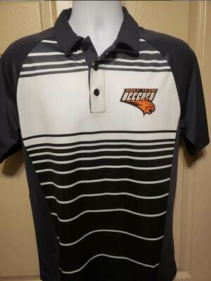 DryZone Sublimated Polo - Beecher Golf or other logo.