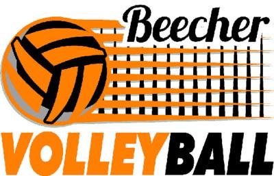 Beecher Volleyball Net Sublimated Racermesh Tee - Long Sleeve, Short Sleeve or V-Neck.