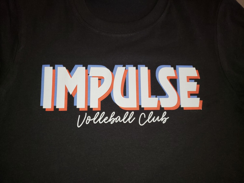Impulse Tik Tack Logo Black Tee