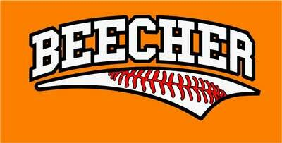 Beecher Baseball Laces Tee