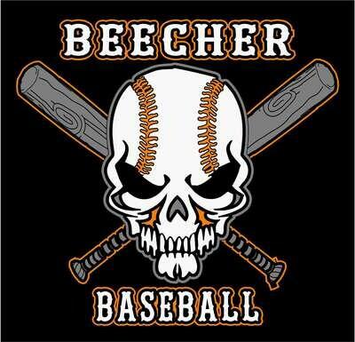 Beecher Skull Baseball Tee