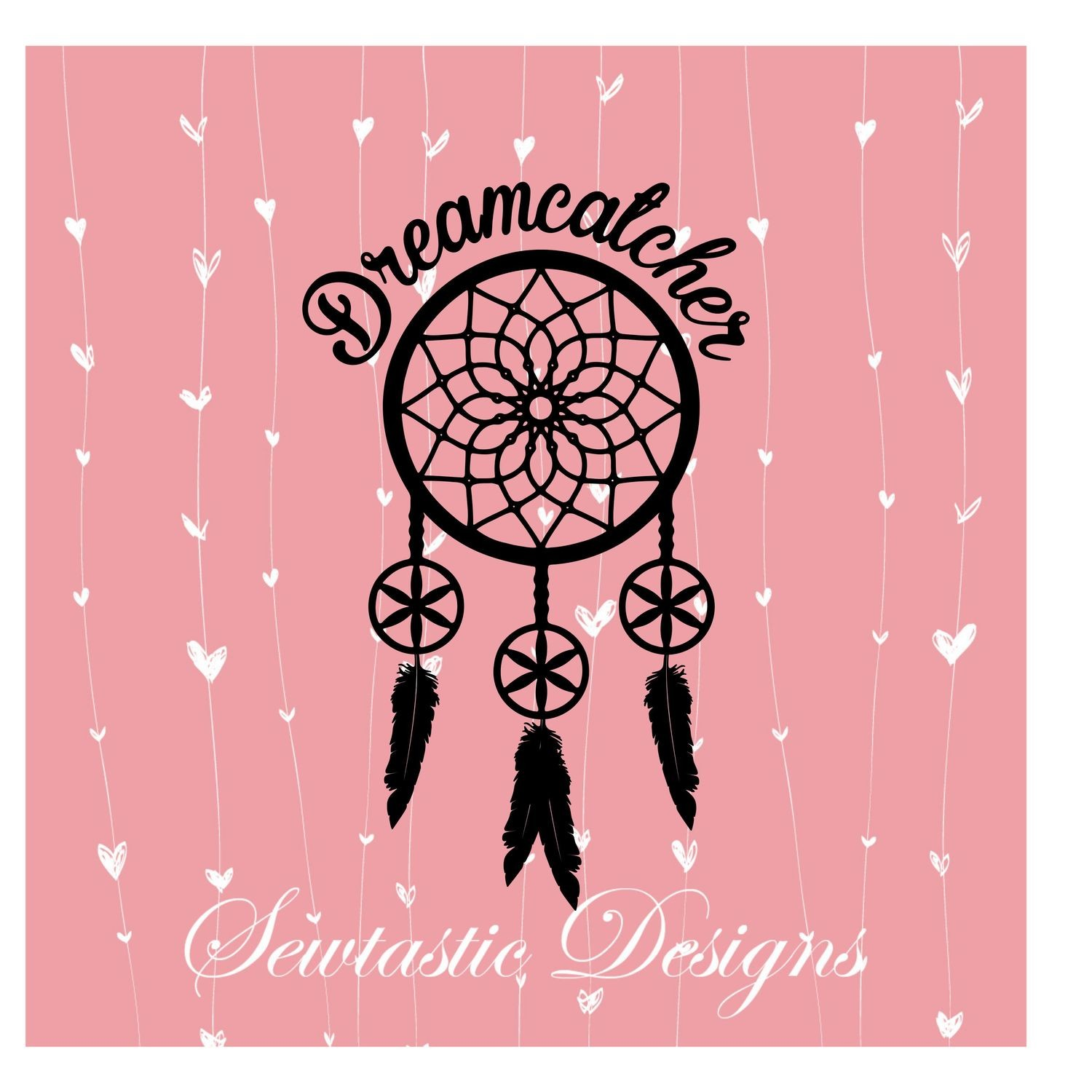 Dream Catcher With Feathers Svg Dream Catcher Svg Feathers Svg Cut File Iron On Decal Cricut Silhouette Scanncut Many More
