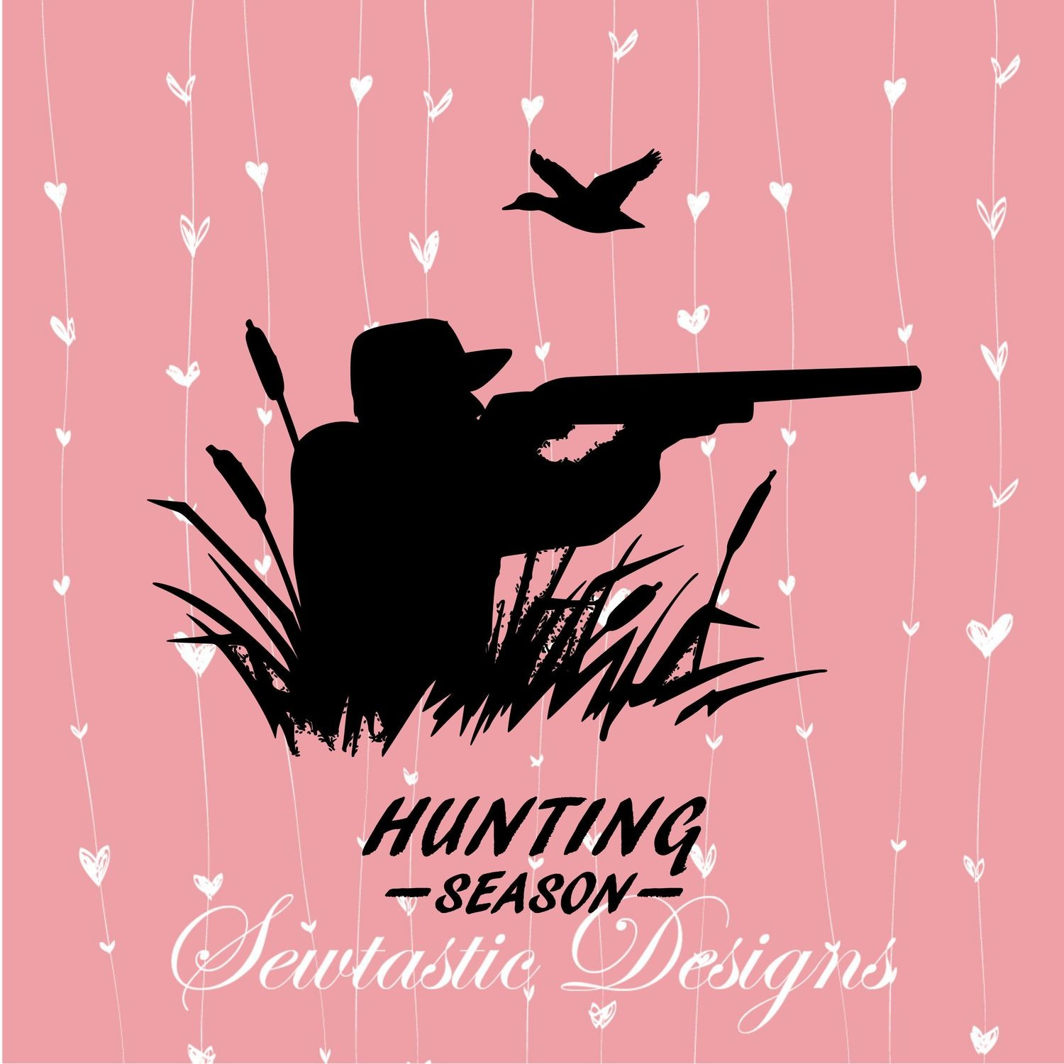 Hunting Season Svg Hunting Svg Duck Svg Rifle Svg Cut File Iron On Decal Cricut Silhouette Scanncut Many More
