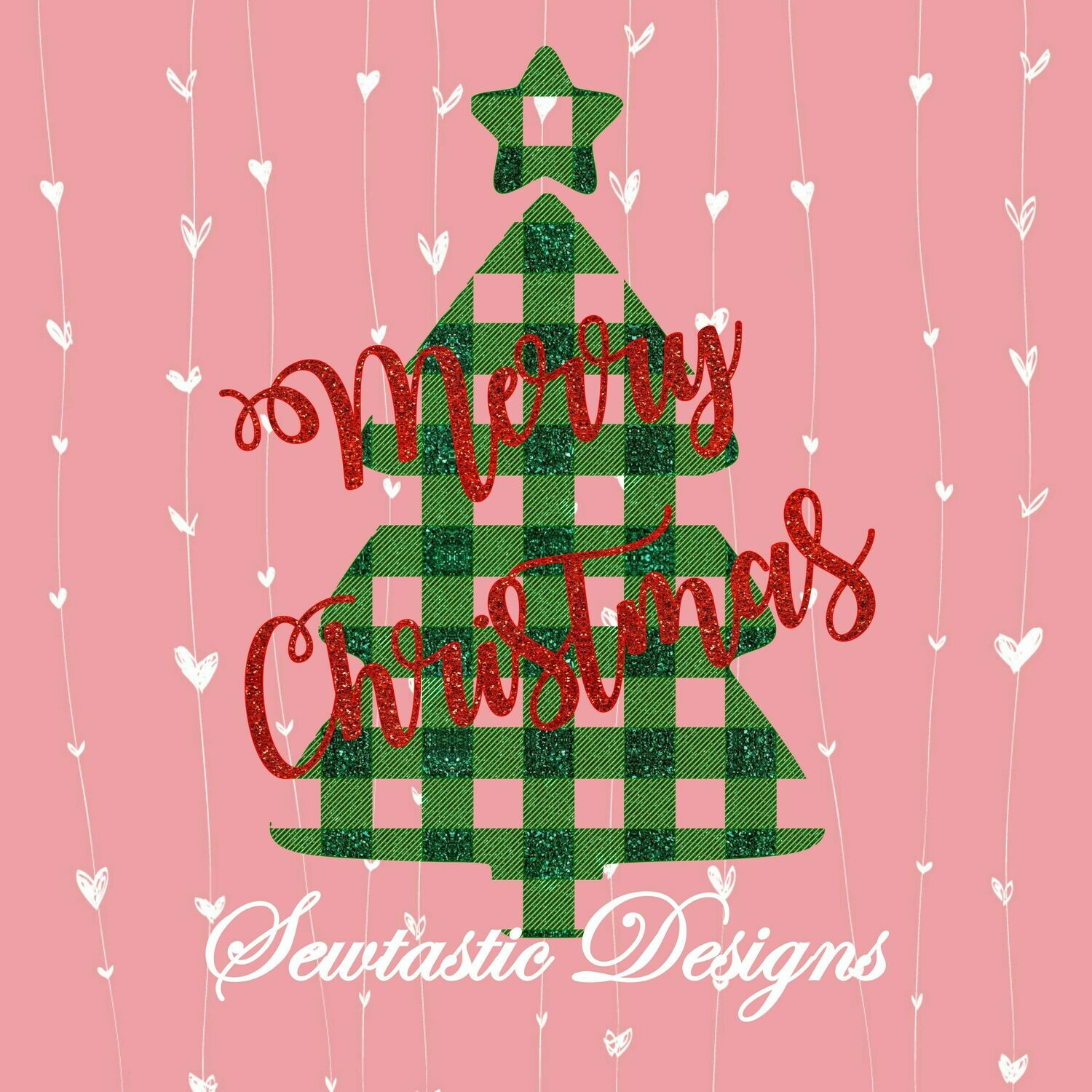 Merry Christmas Tree Svg Merry Christmas Svg Christmas Tree Svg Buffalo Plaid Svg Christmas Svg Cut File Iron On Decal Cricut Silhouette Scanncut Many More