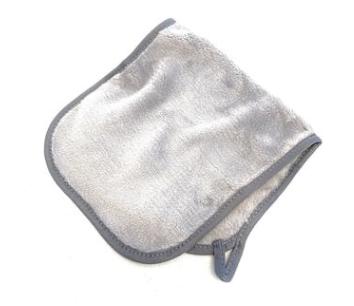 Microfiber Makeup Remover in Gray