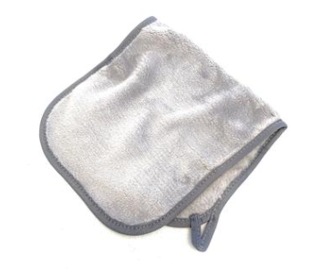 Microfiber Makeup Remover in Gray