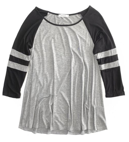 Ready to Roll Rugby Top in Gray