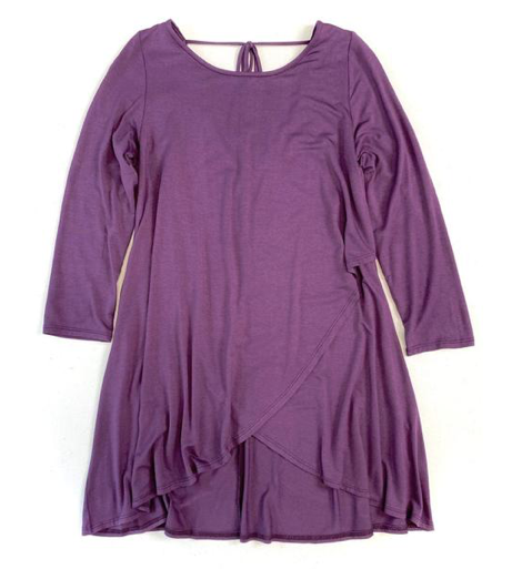 Behind My Back Tunic in Purple