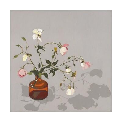 Limited Edition fine art print 'Autumn Roses' 70cm x 70cm CANVAS