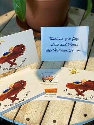 5 Away in a Manger Holiday Cards