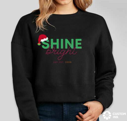 S&B Collection - Shine Bright Holiday Crop Sweater