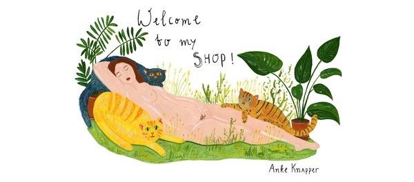 Anke Knapper Online Shop