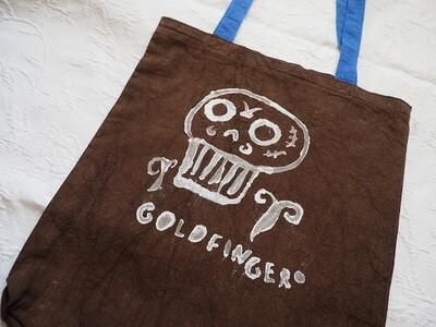 Сумка-шоппер «Goldfinger browny»