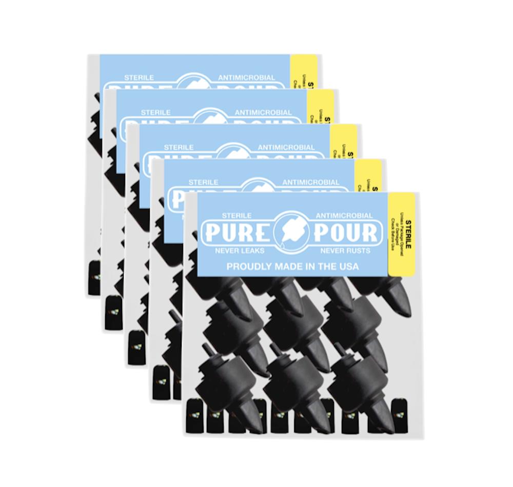50 pack Pour Spouts & Caps