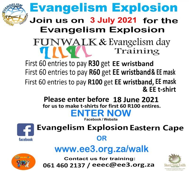 Fun Walk & Share your Faith Entry