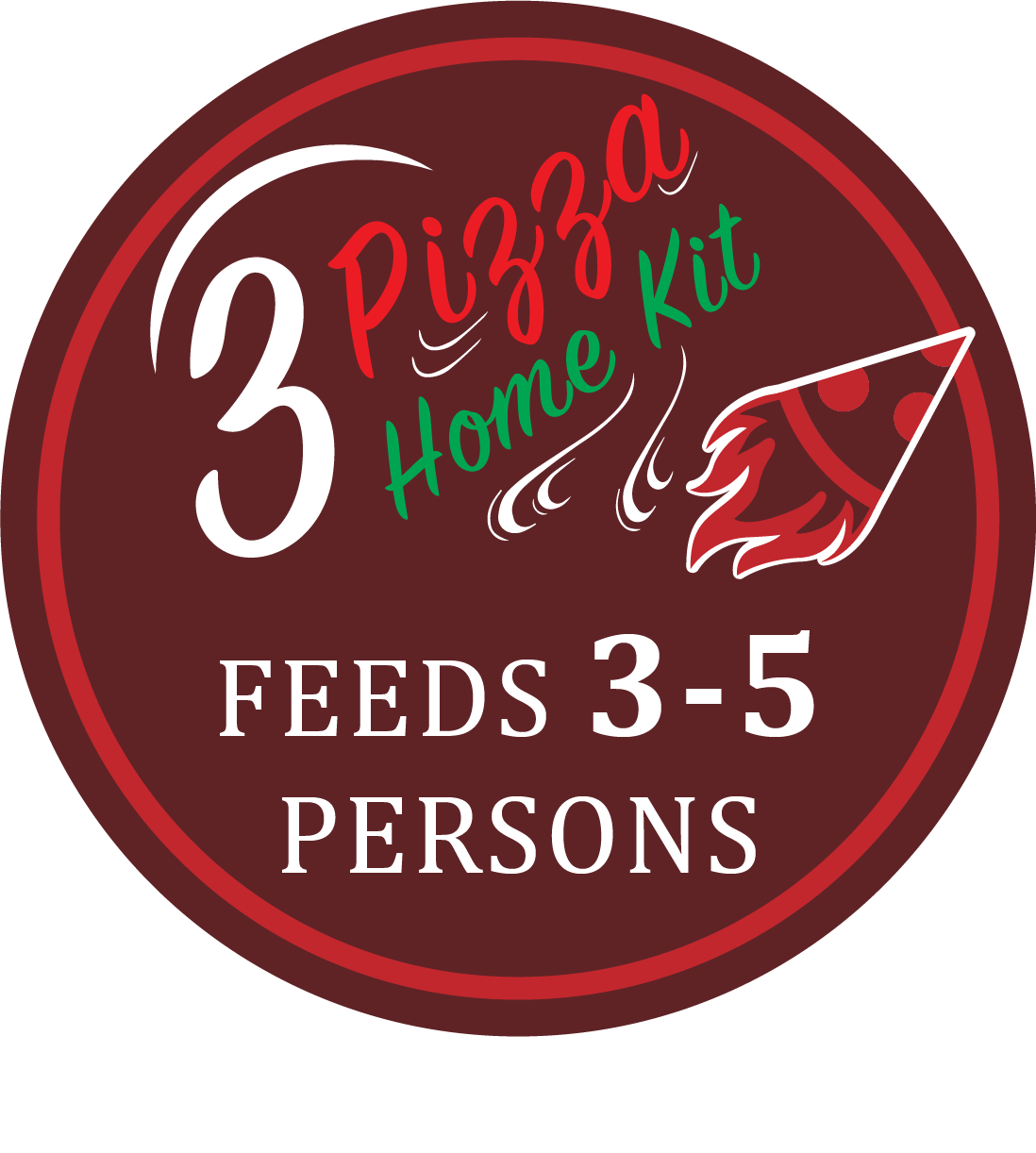 3-Pizza Kit (Customise with your favourite toppings)