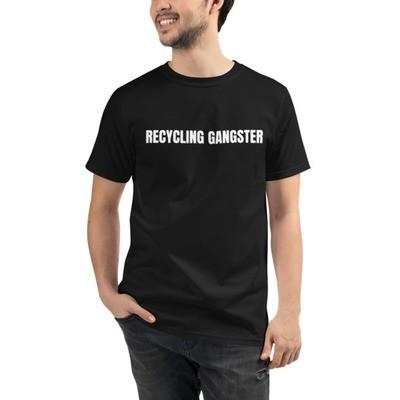 Recycling Gangster Organic Crew Neck T-Shirt