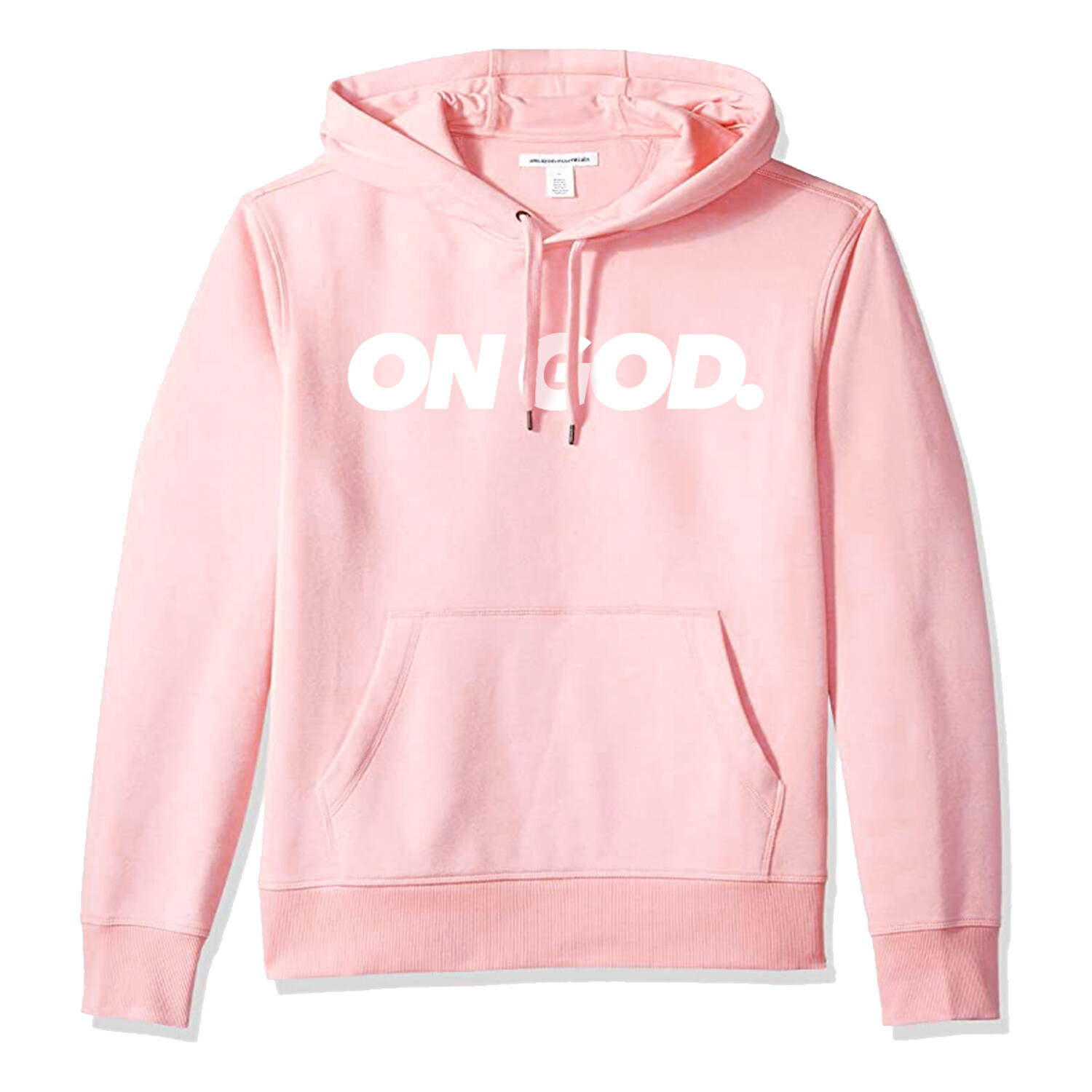 On God. BOX Pullover PINK