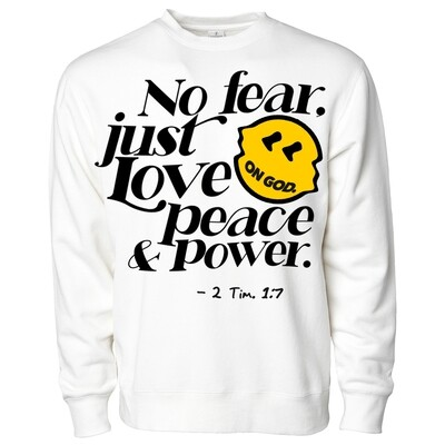 No Fear Sweatshirt White