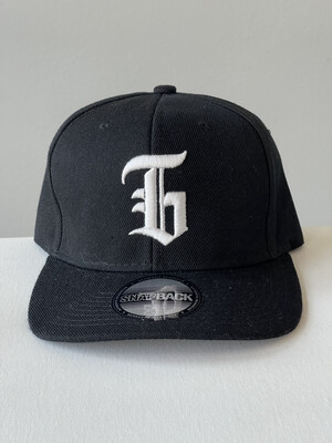"Capital ""G"" Hat BLACK"