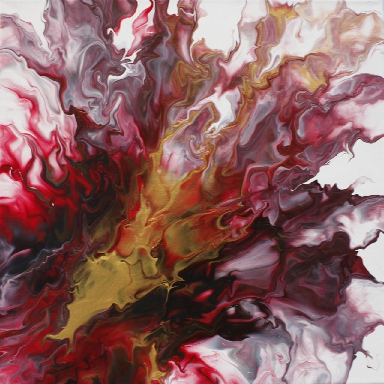 """14"""" Original Acrylic Painting"""