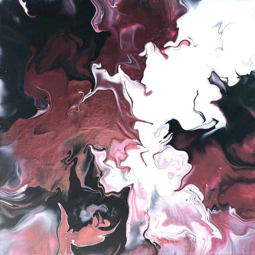 """8"""" Original Acrylic Painting"""