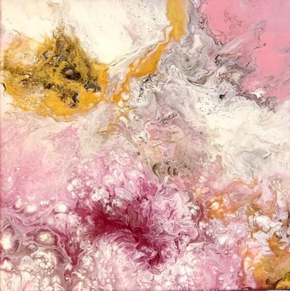 """12"""" Original Acrylic Painting"""