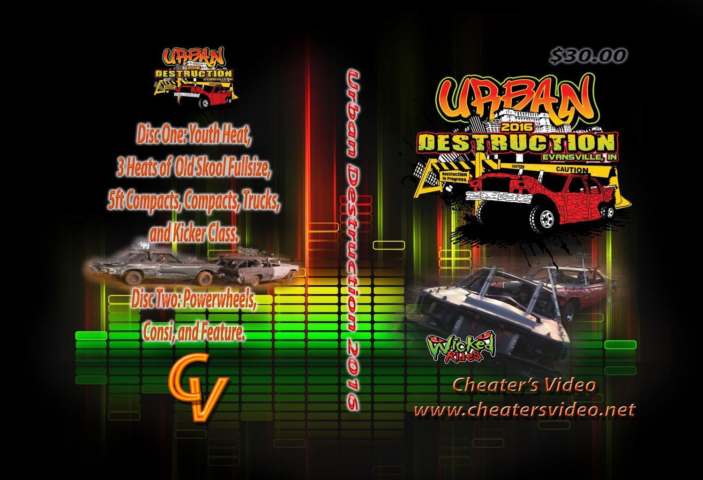 Urban Destruction2016  DVD