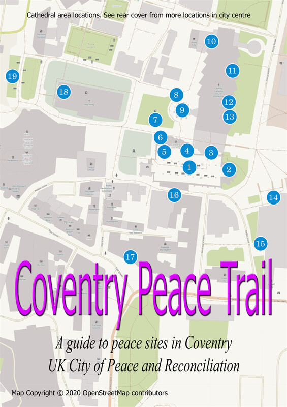 Coventry City Centre Peace Trail with free shipping