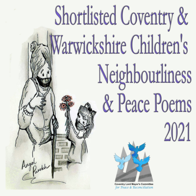 Paperback Shortlisted Coventry & Warwickshire Children's Neighbourliness & Peace Poems 2021