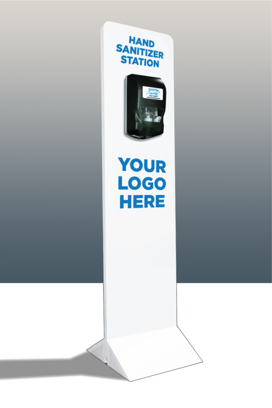 HANDe Automatic Dispenser Stand