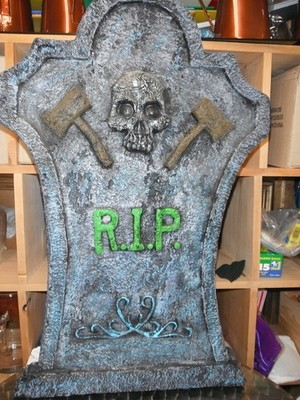 Halloween Sign RIP