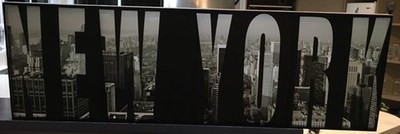 New York - Canvas Sign