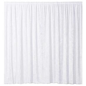 Drapes - White Velvet 3m x 3m with backdrop support
