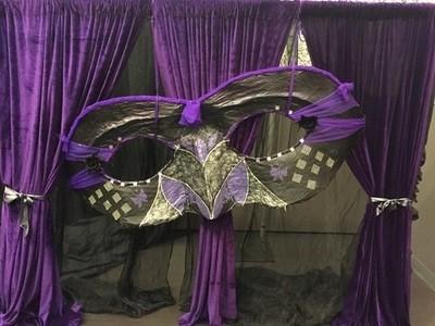 Drapes - Velvet Purple 3m