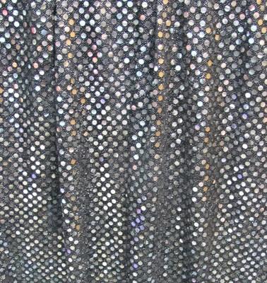 Drape / Backdrop - Sequin Silver 2.5mH x 4m