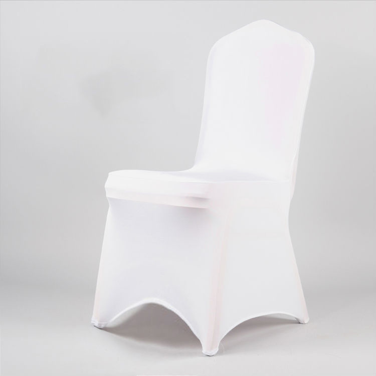 Chair cover - lycra - white