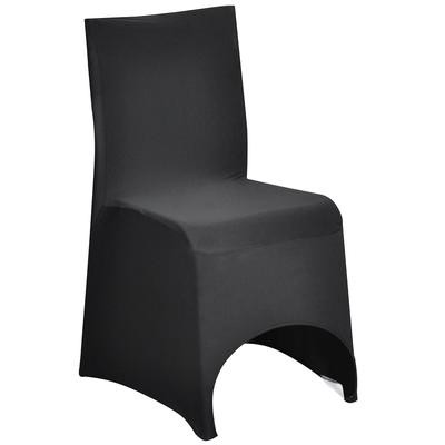 Chair cover - lycra - black